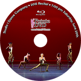 Studio 1 Dance Company 2015 Recital: 7:00 pm Saturday 6/20/2015 Blu-ray
