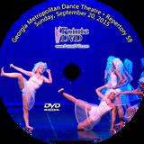 Georgia Metropolitan Dance Theatre Repertory 59: Sunday 9/20/2015 2:00 pm DVD