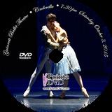 Gwinnett Ballet Theatre Cinderella 2015: 7:30 pm Saturday 10/3/2015 DVD