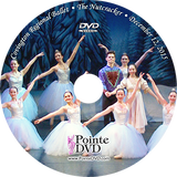 Covington Regional Ballet The Nutcracker 2015: Saturday 12/12/2015 7:00 pm DVD
