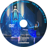 Southern Ballet Theatre Frozen 2016: Saturday 3/5/2016 7:00 pm DVD