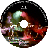 Blessed Trinity Fine Arts Dance Concert 2016: Friday 3/18/2016 Blu-ray