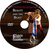 Gainesville Ballet Beauty and the Beast 2016: Saturday 3/19/2016 7:30 pm Edited 2 cameras DVD
