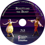 Gainesville Ballet Beauty and the Beast 2016: Sunday 3/20/2016 2:00 pm Edited 2 cameras Blu-ray