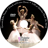 Gwinnett Ballet Theatre Friends and Famous Dances 2016: Saturday 3/26/2016 2:30 pm DVD