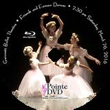 Gwinnett Ballet Theatre Friends and Famous Dances 2016: Saturday 3/26/2016 2:30 pm Blu-ray