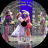 Covington Regional Ballet Alice in Wonderland 2016: Sunday 5/1/2016 3:00 pm DVD