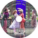Covington Regional Ballet Alice in Wonderland 2016: Sunday 5/1/2016 3:00 pm Blu-ray