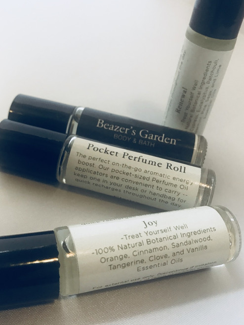 Essential Oil Pocket Perfume Roll-on