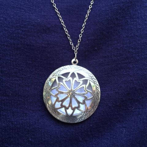 Essential Oil Perfume Diffuser Necklace Charm