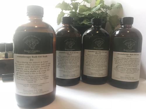 Aromatherapy Bath Oil Soak