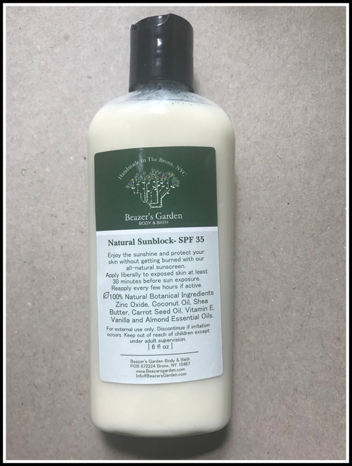 Herbal Natural Sunscreen