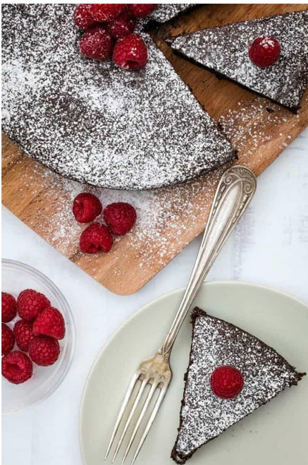 Specialty Pies by Paige B ~ Almond Chocolate Cake