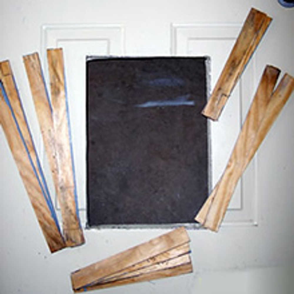 The optional STEEL DOOR TRIM KITS are designed to cover the raw metal edge on a cut door and to provide a flat surface on a panel style metal door to make mounting your pet door safe and secure. Designed to fit the Heavy Duty Dog Door and Easy Dog Door.