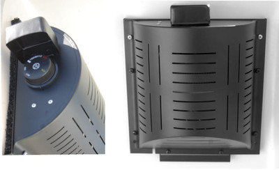 Pet House Heater Plus - Upgraded dial, Forced Air from fan, 8' Extension Cord.