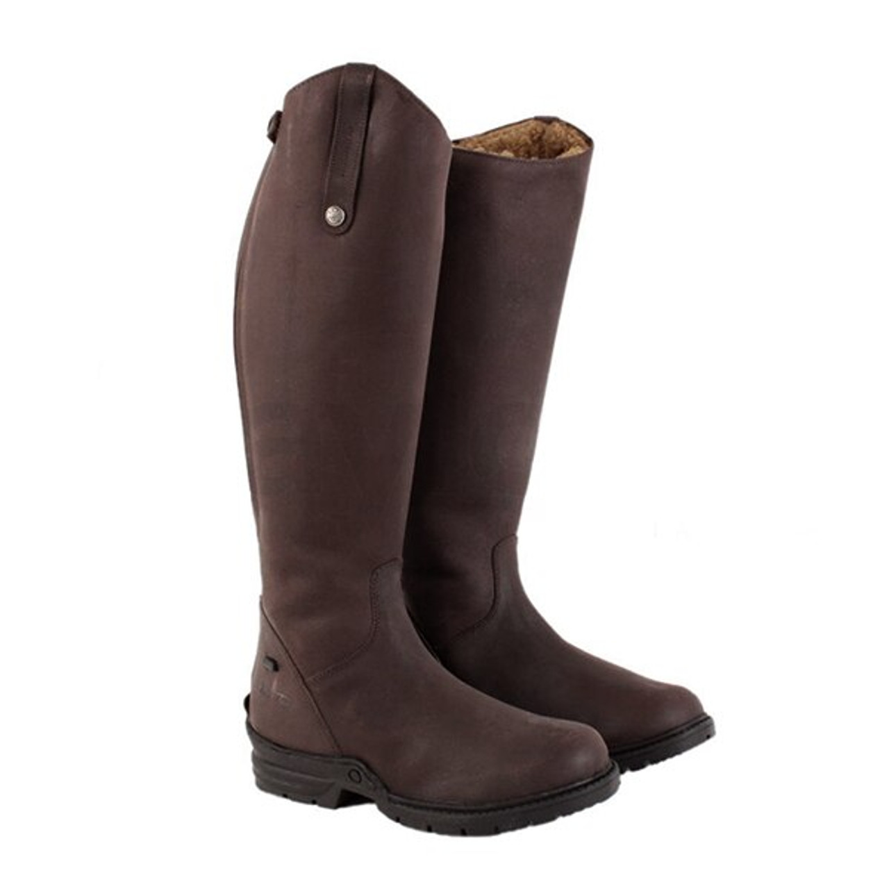 ec0577d0cc6 Mark Todd Fleece Lined Tall Winter Boot - Brown - Wide - HOOVES AND BOONIES