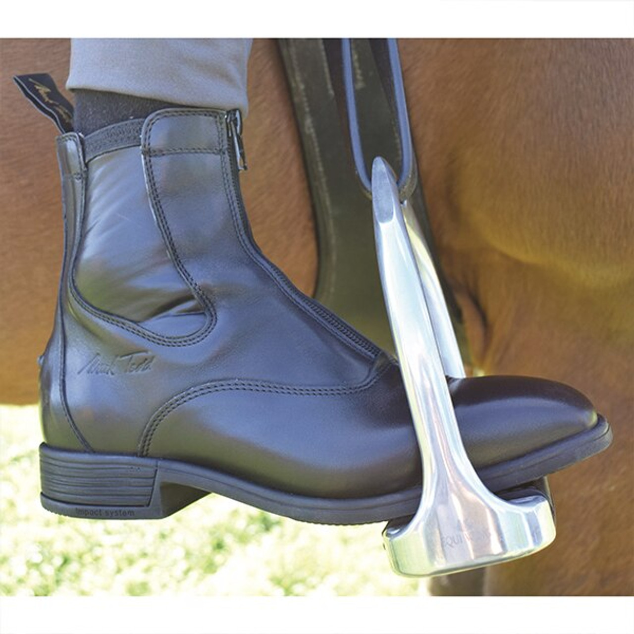 0dadc22f7107 Mark Todd Palmerston Short Riding Boot - Black - HOOVES AND BOONIES