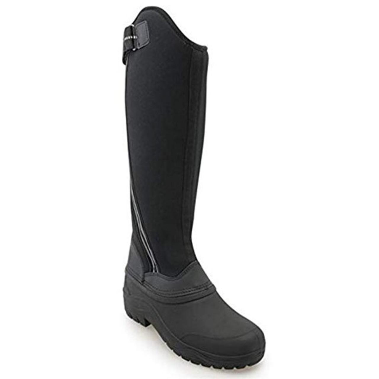 c95cc379a8b Harry Hall Winter Frost Ladies Boots - Black