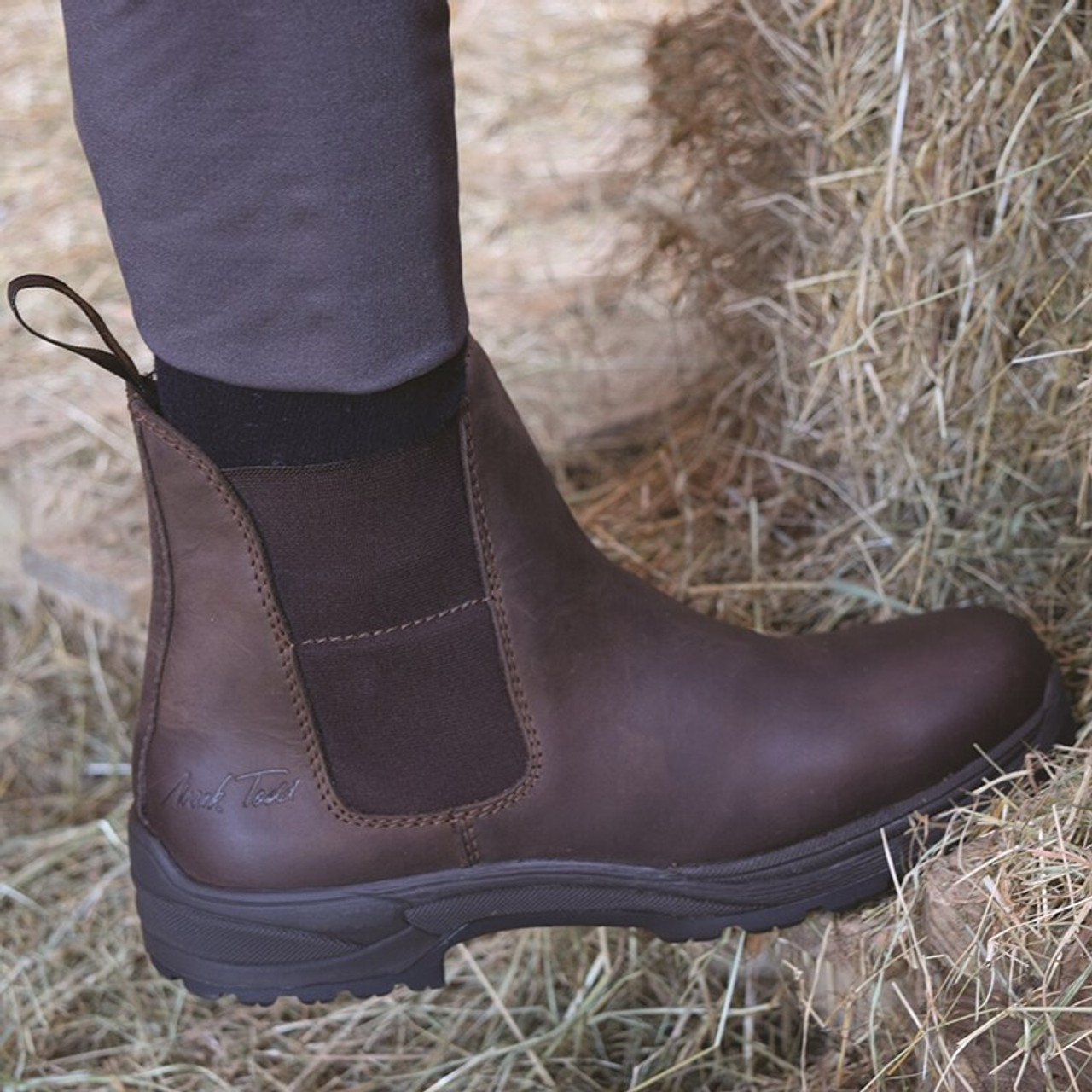 32d78672c549 Mark Todd Kiwi Short Work Boot Adult - Brown - HOOVES AND BOONIES