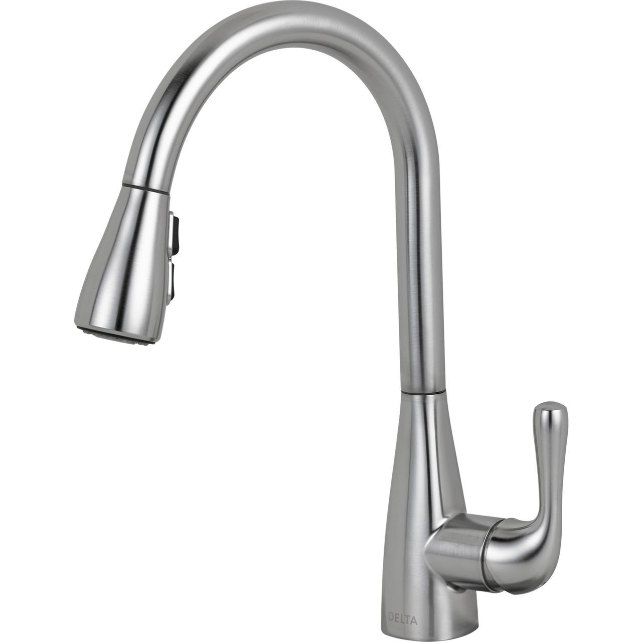 Delta Kitchen Faucets.Delta Marley Single Handle Pull Down Kitchen Faucet That Blue Tub