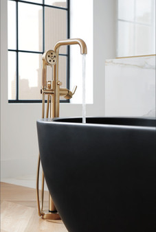 Brizo - Litze Freestanding Floor Mount Tub Filler - Less Handle