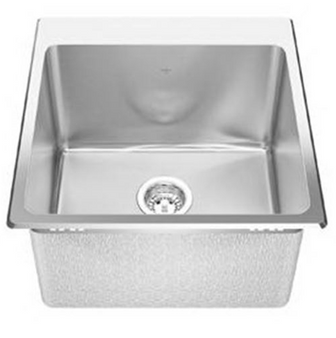 Kindred - Steel Queen Laundry Stainless Steel Sink
