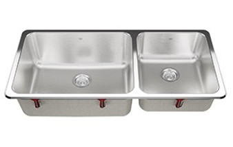 Kindred - Steel Queen Laundry Double Stainless Steel Sink