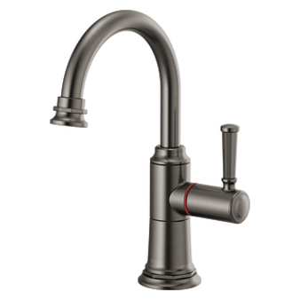 Brizo - Rook Instant Hot Faucet with Angled Spout and Knurled Handle
