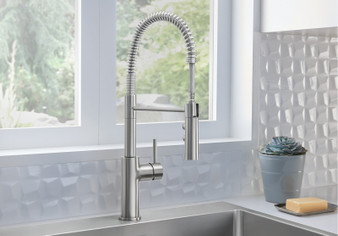 Blanco - Catris and Catris Flexo Single Handle Articulating Kitchen Faucet