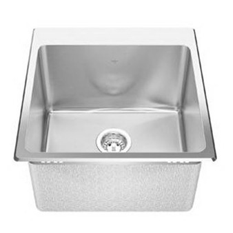 Franke Kindred Stainless Steel 3-Hole 1-Bowl Laundry Sink