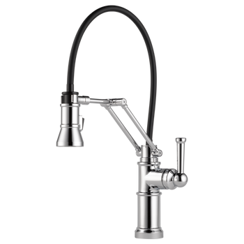 Brizo - Artesso Single Handle Articulating Kitchen Faucet