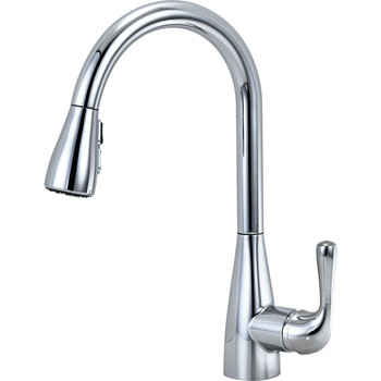 Delta - Marley Single Handle Pull-Down Kitchen Faucet