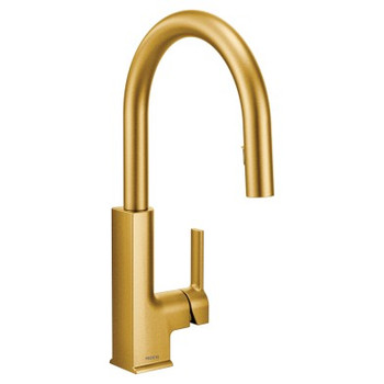 Moen - STo One-Handle High Arc Pulldown Kitchen Faucet