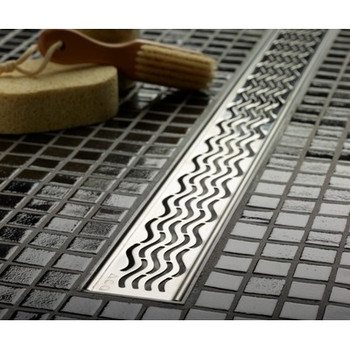 Aco Quartz- Hawaii Polished Stainless Steel Grate