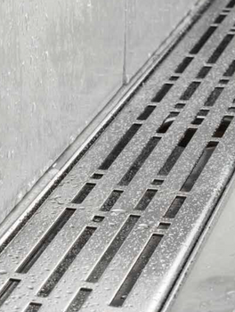 Aco Quartz - Mix Polished Stainless Steel Grate