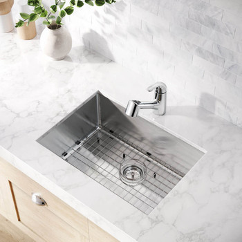 Frederick York - Trent Single Bowl Undermount Stainless Steel Sink