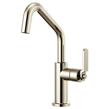 Brizo - Litze Bar Faucet with Angled Spout and Knurled/Industrial Handle