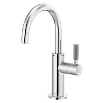 Brizo - Litze Beverage Faucet with Arc Spout and Knurled Handle