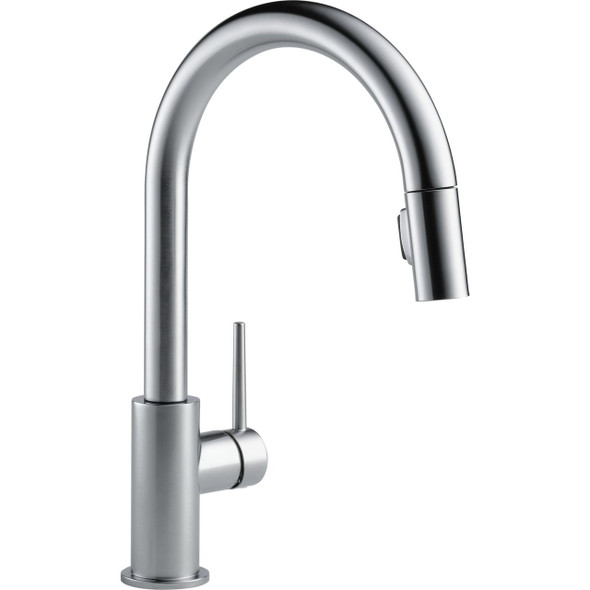 Delta - Trinsic Single Handle Pull-Down Kitchen Faucet