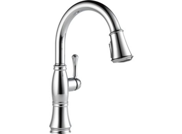 Delta - Cassidy Single Handle Pull-Down Kitchen Faucet With ShieldSpray Technolog