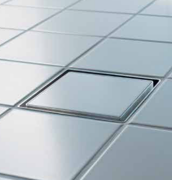 Aco Quartz - Tile Point Drain