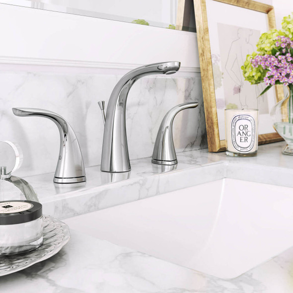 Frederick York - Severn Two Handle Widespread Lav Faucet