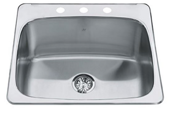 Kindred - Steel Queen Laundry Stainless Steel Sink IV