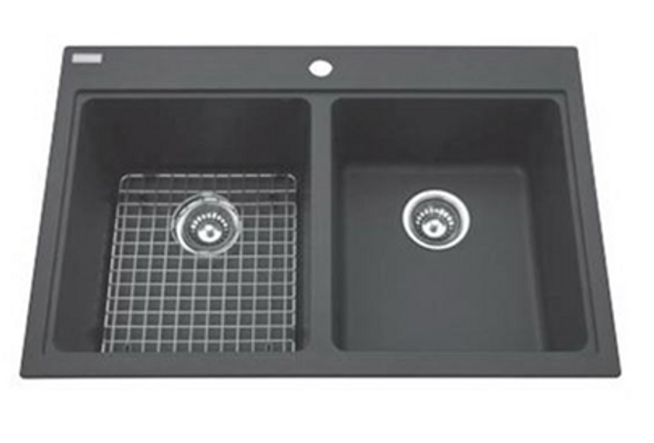 Kindred - Granite Topmount Double Sink IV