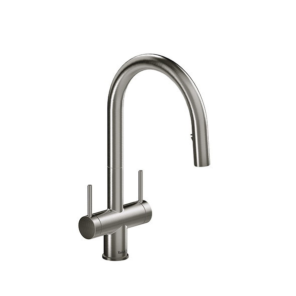 Riobel - Azure Kitchen Faucet with Two Handles and Spray