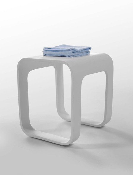 Volkano - Shower Stool with Cut Out