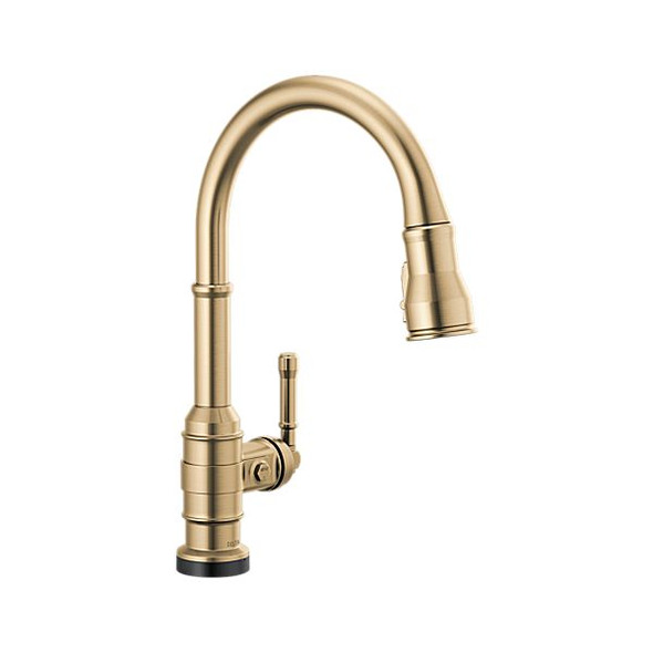 Delta - Single Handle Pull-Down Kitchen Faucet With Touch2O Technology