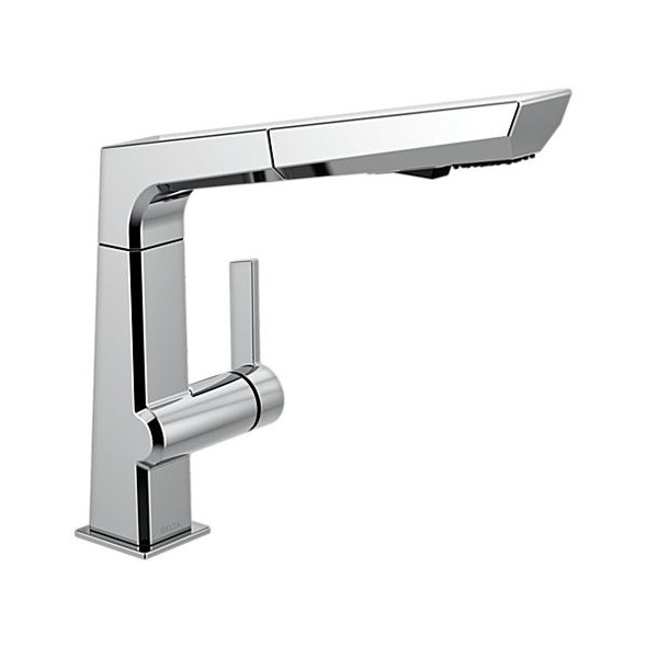 Delta - Single Handle Pull Out Kitchen Faucet