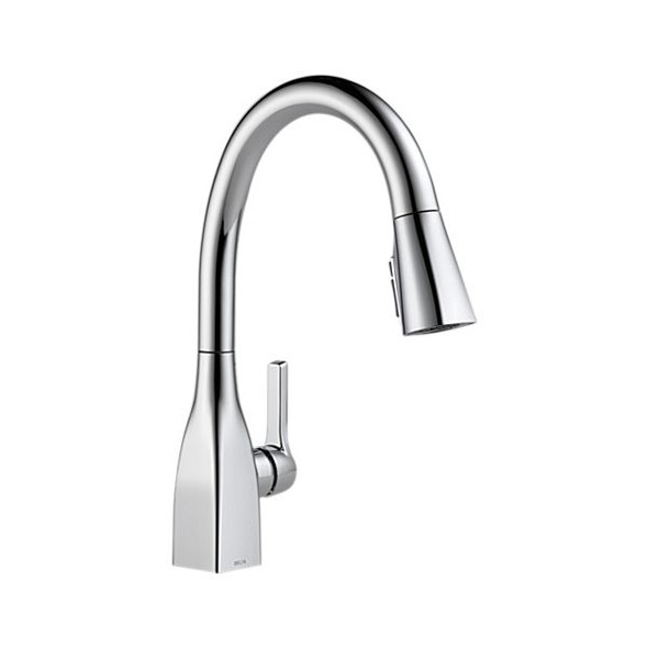 Delta - Single Handle Pull-Down Kitchen Faucet with ShieldSpray Technology