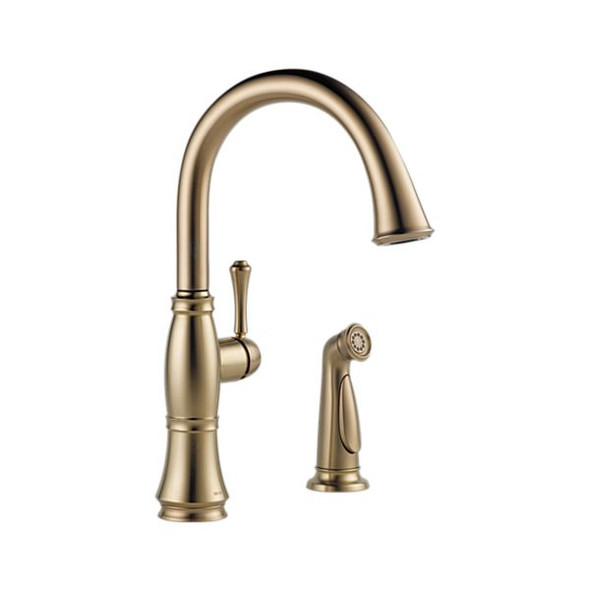 Delta - CASSIDY™ Single Handle Kitchen Faucet with Spray